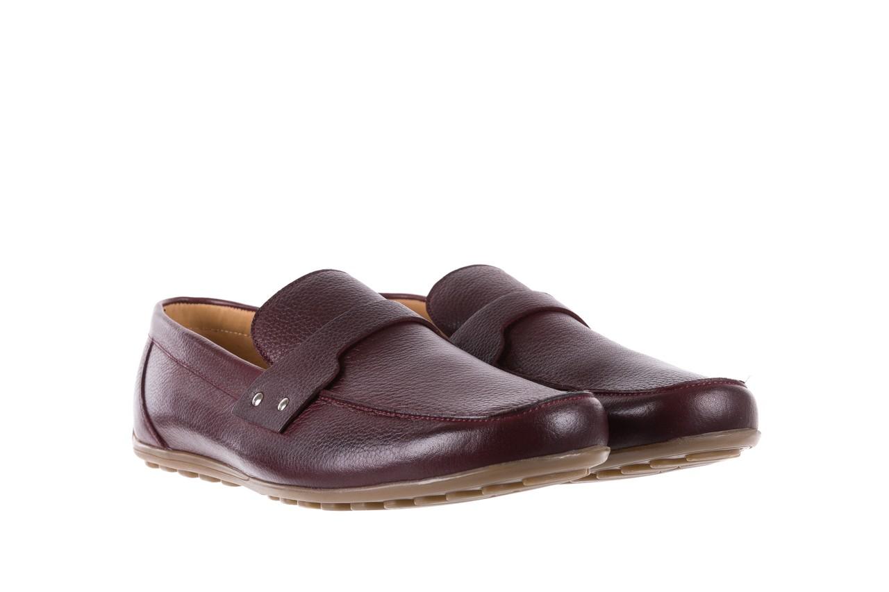 Mokasyny bayla-057 3505 chianti, bordo, skóra naturalna  - mokasyny i espadryle - buty męskie - mężczyzna 8