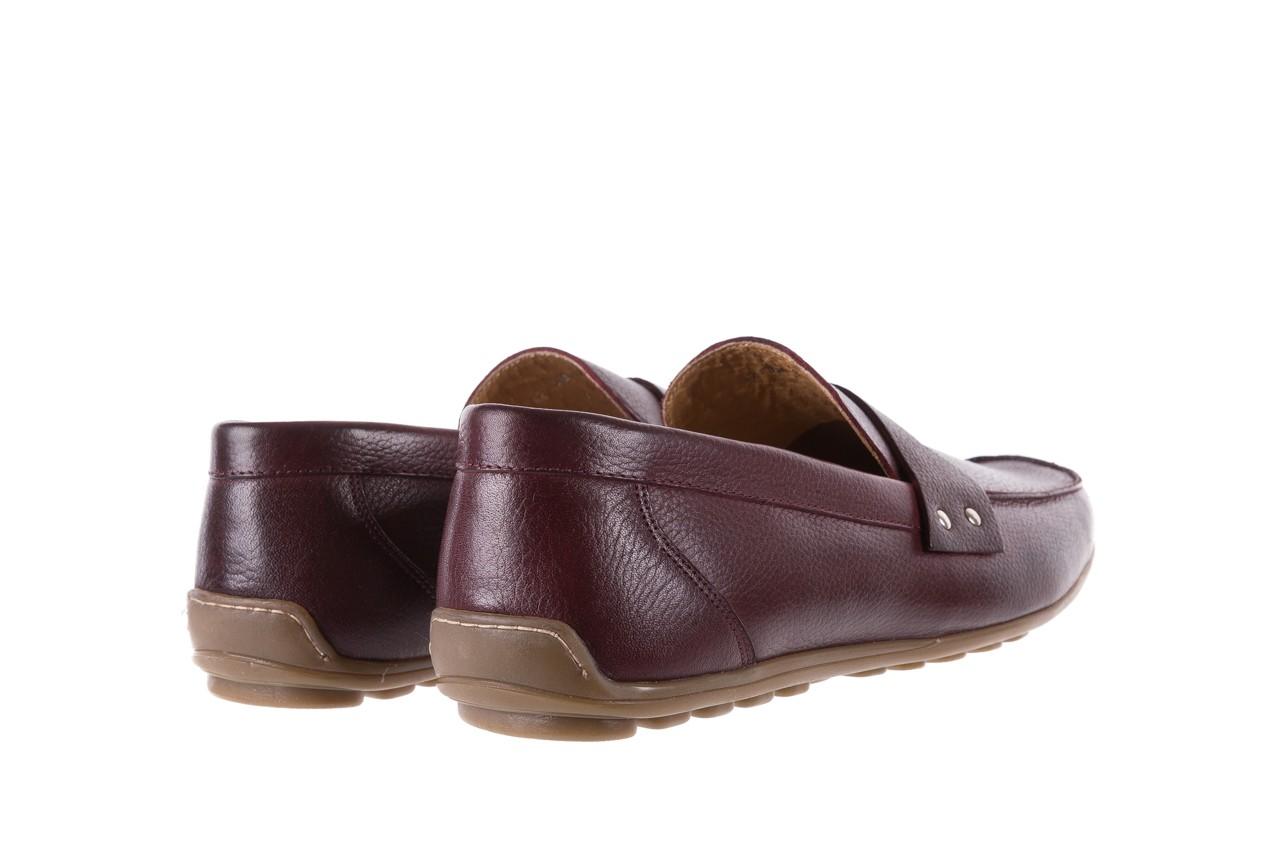 Mokasyny bayla-057 3505 chianti, bordo, skóra naturalna  - mokasyny i espadryle - buty męskie - mężczyzna 10