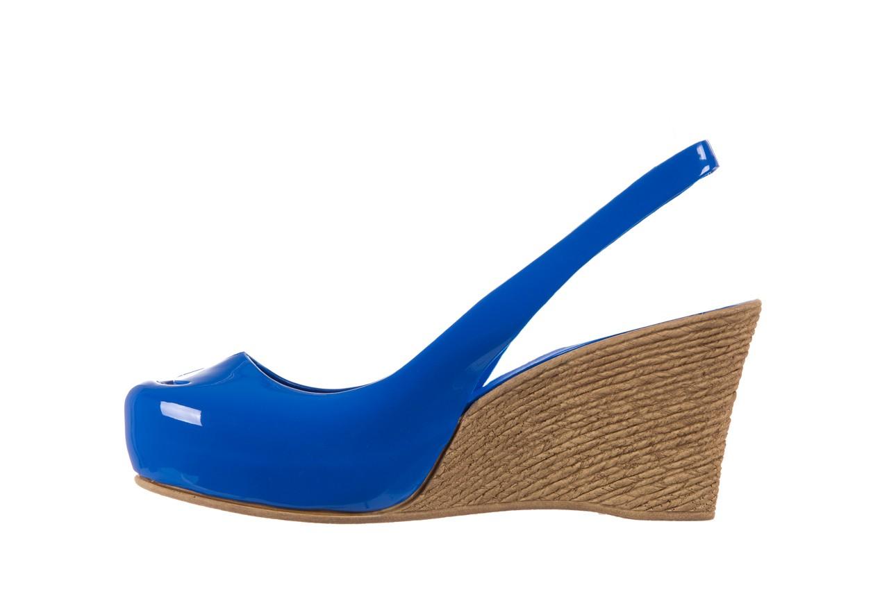 Sandały bayla-064 coco blue. granat, guma 9