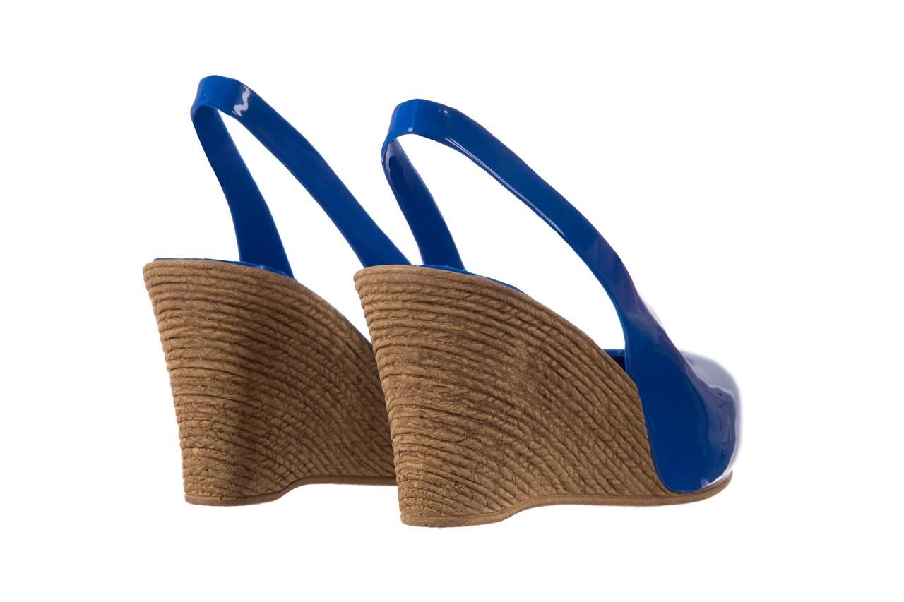 Sandały bayla-064 coco blue. granat, guma 10
