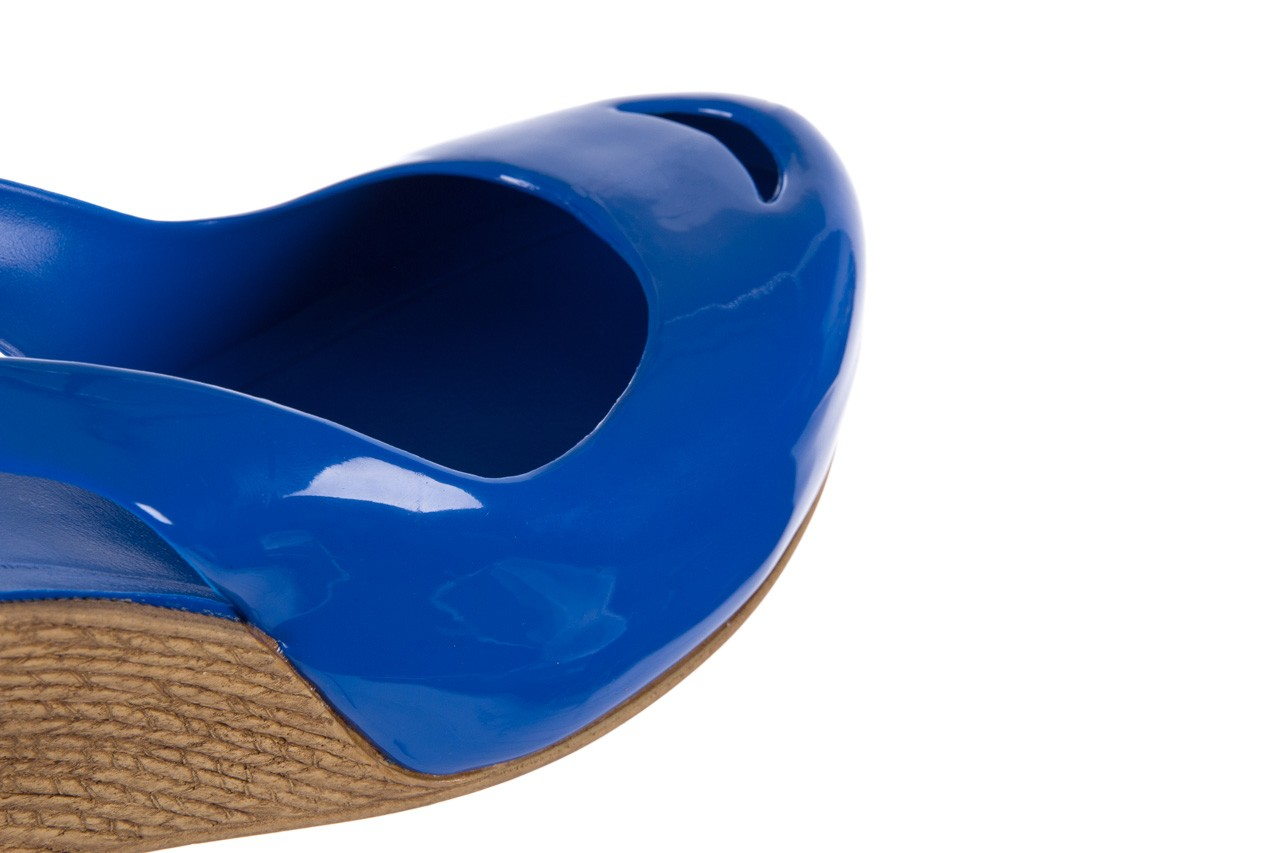 Sandały bayla-064 coco blue. granat, guma 12