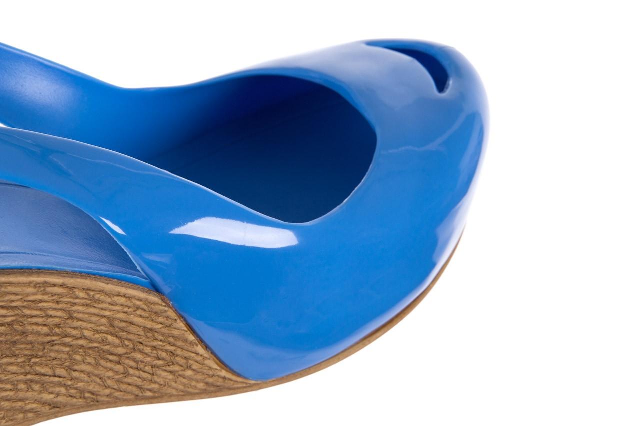 Sandały bayla-064 coco light blue, niebieski, guma 12