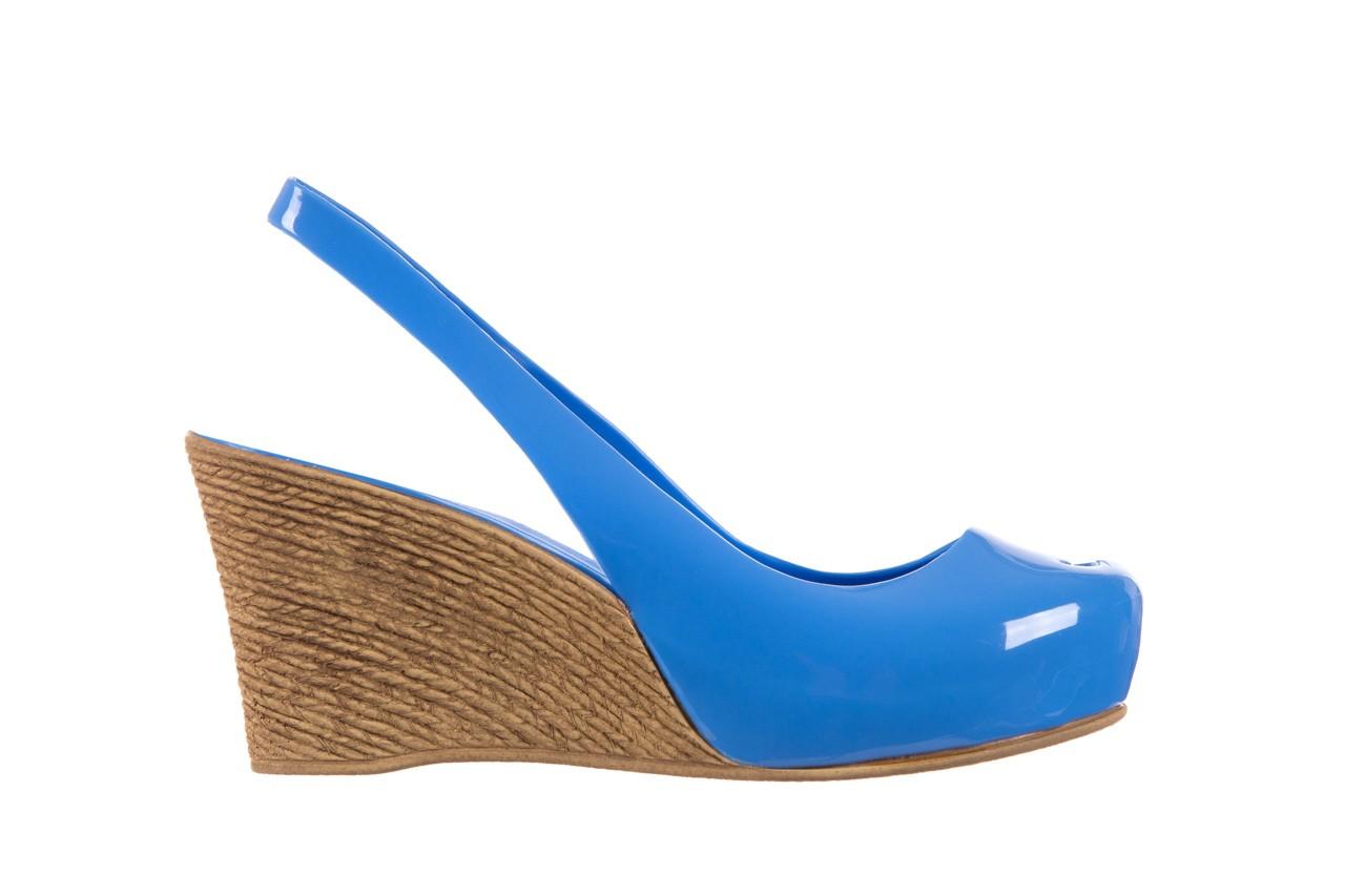 Sandały bayla-064 coco light blue, niebieski, guma 7
