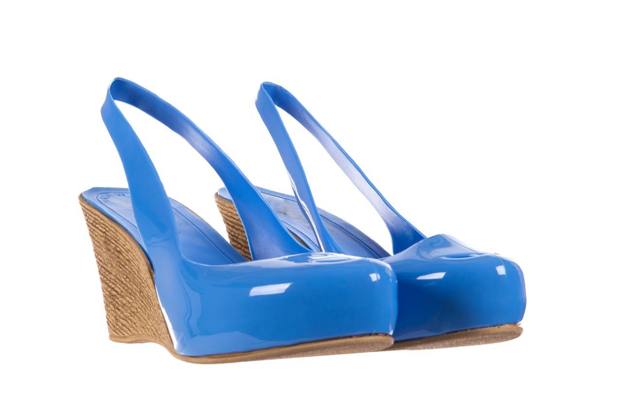 Sandały bayla-064 coco light blue, niebieski, guma 8