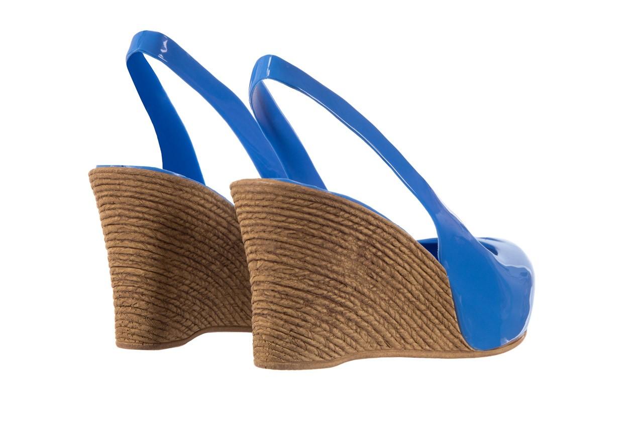 Sandały bayla-064 coco light blue, niebieski, guma 10