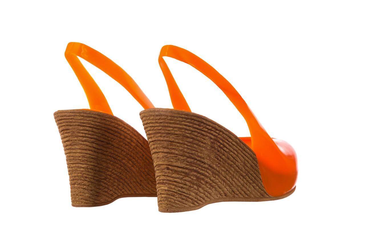 Sandały bayla-064 coco orange fluo, pomarańczowy, guma - bayla - nasze marki 10