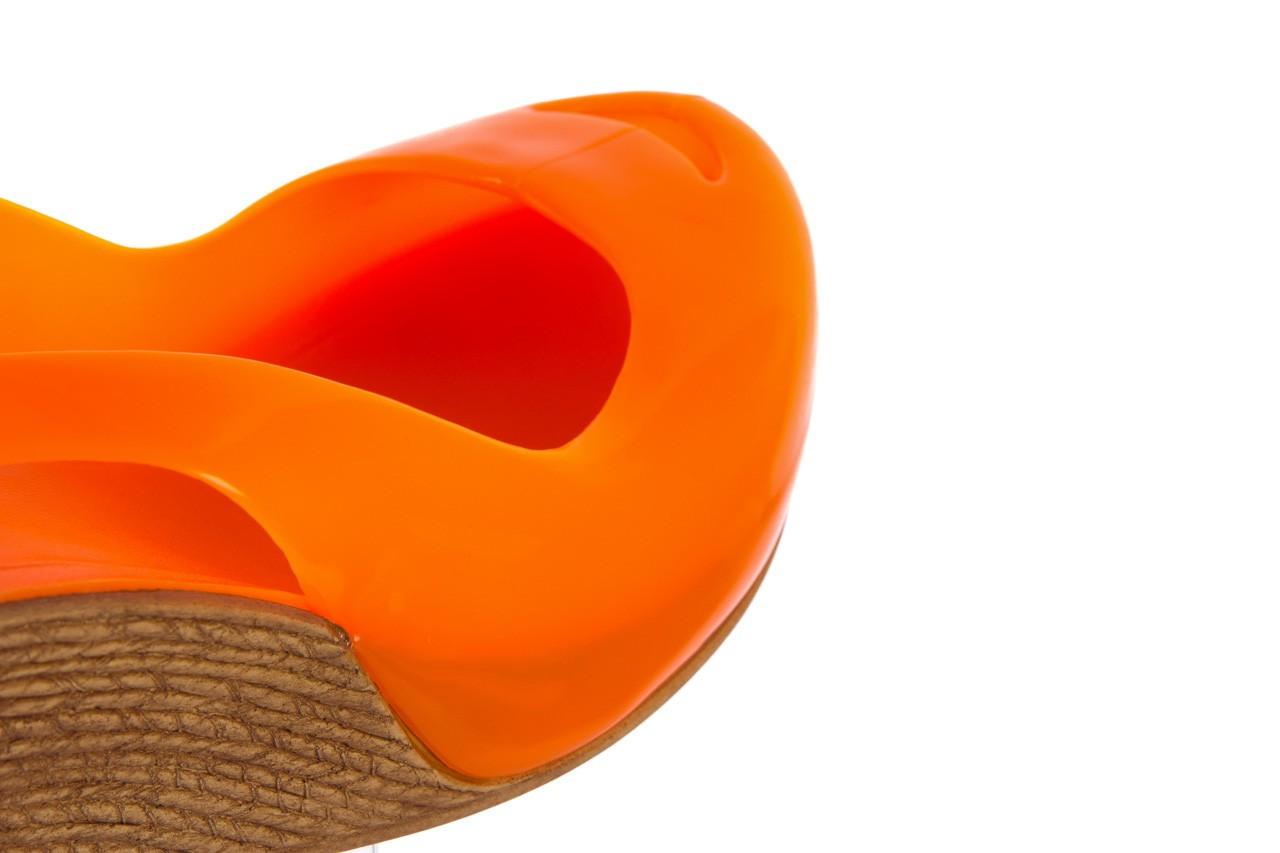 Sandały bayla-064 coco orange fluo, pomarańczowy, guma - bayla - nasze marki 12