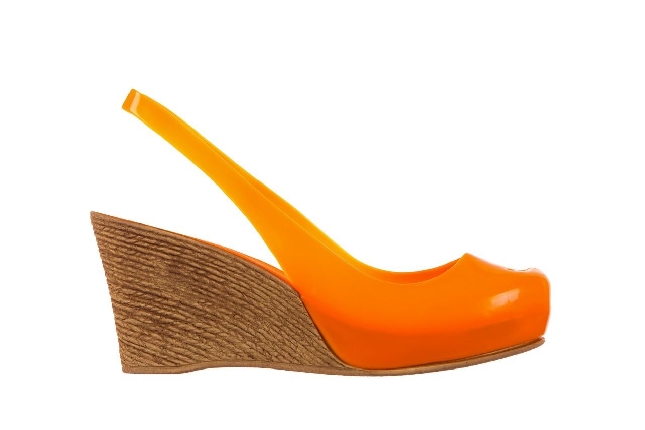 Sandały bayla-064 coco orange fluo, pomarańczowy, guma - bayla - nasze marki 7