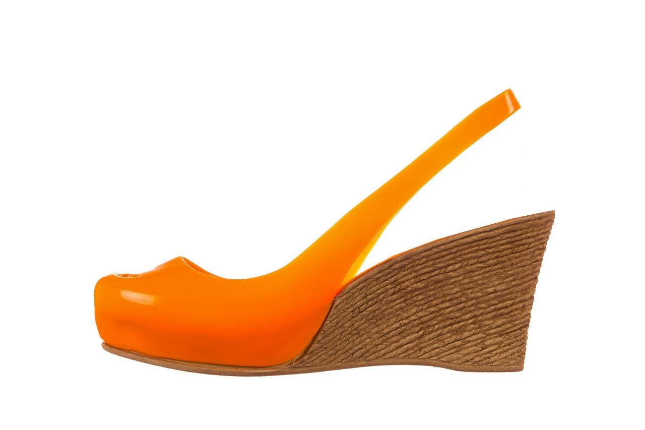 Sandały bayla-064 coco orange fluo, pomarańczowy, guma - bayla - nasze marki 9