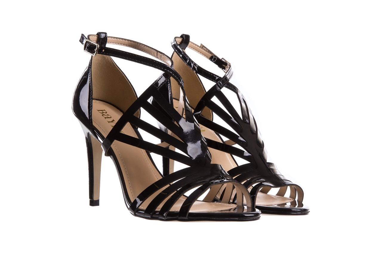 Sandały bayla-065 1388115 col preto, czarny, skóra ekologiczna lakierowana  - bayla - nasze marki 9