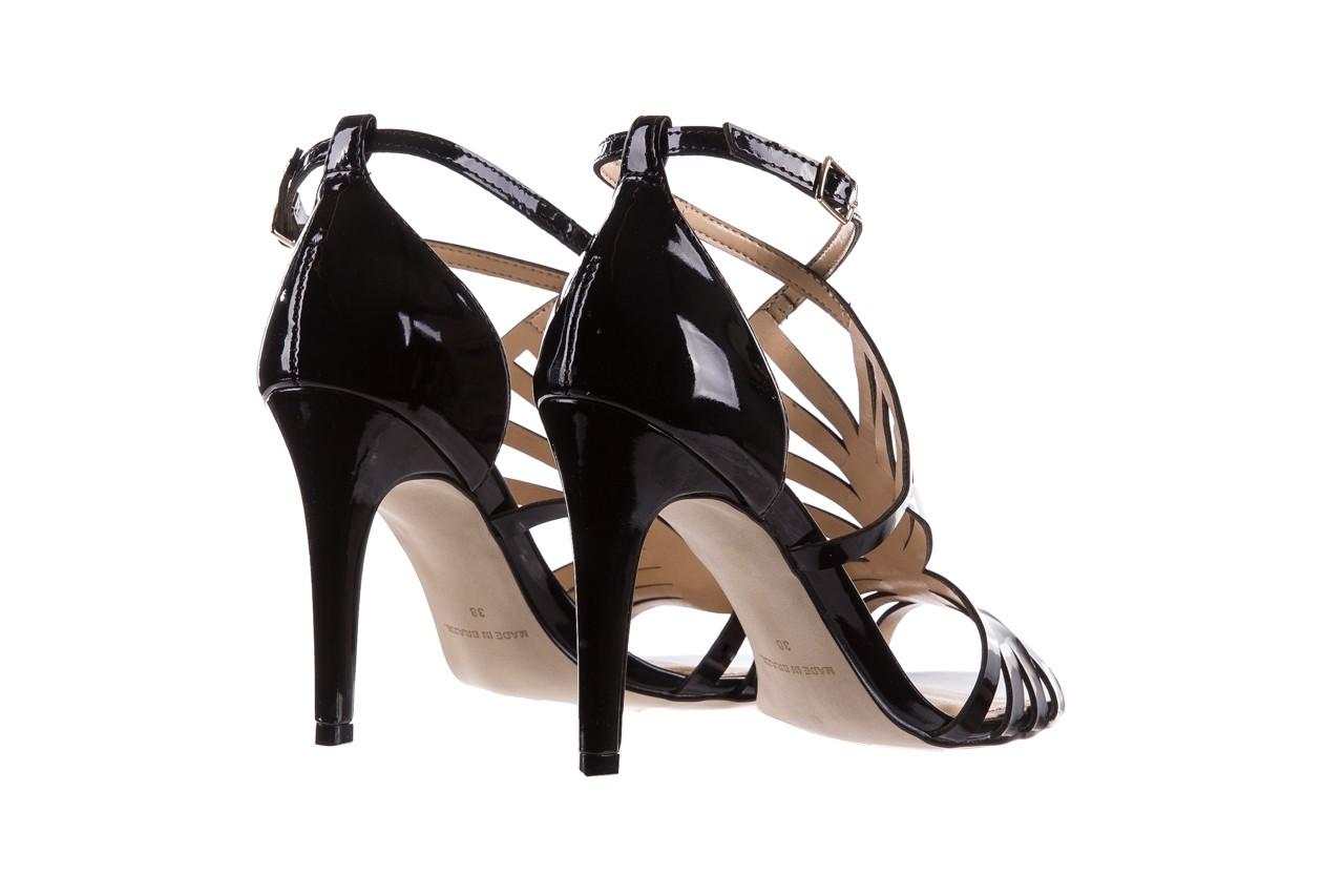 Sandały bayla-065 1388115 col preto, czarny, skóra ekologiczna lakierowana  - bayla - nasze marki 12
