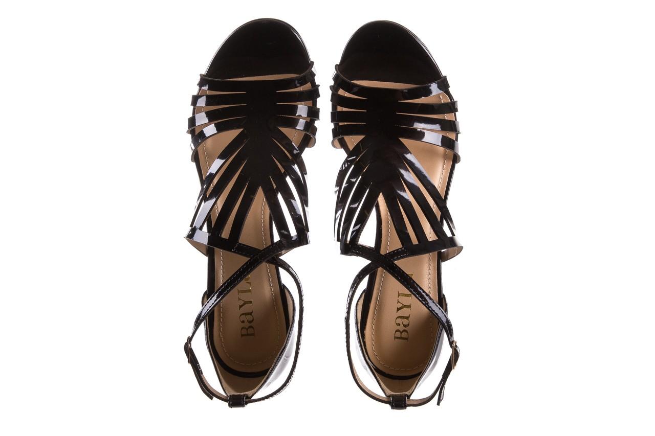Sandały bayla-065 1388115 col preto, czarny, skóra ekologiczna lakierowana  - bayla - nasze marki 13