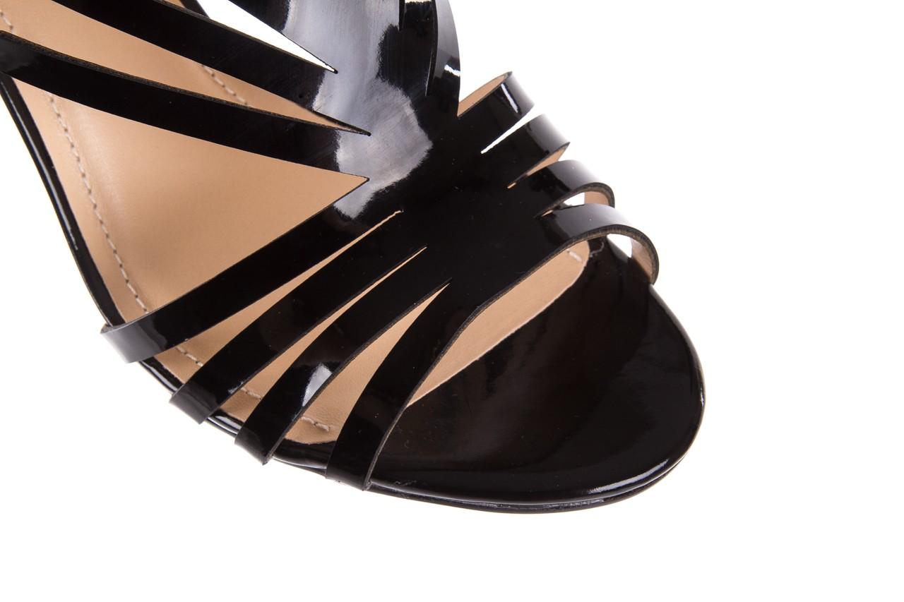 Sandały bayla-065 1388115 col preto, czarny, skóra ekologiczna lakierowana  - bayla - nasze marki 15
