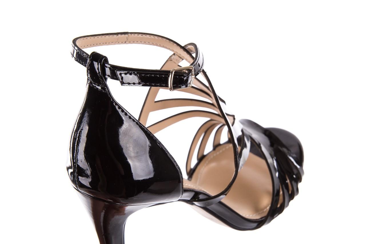 Sandały bayla-065 1388115 col preto, czarny, skóra ekologiczna lakierowana  - bayla - nasze marki 14