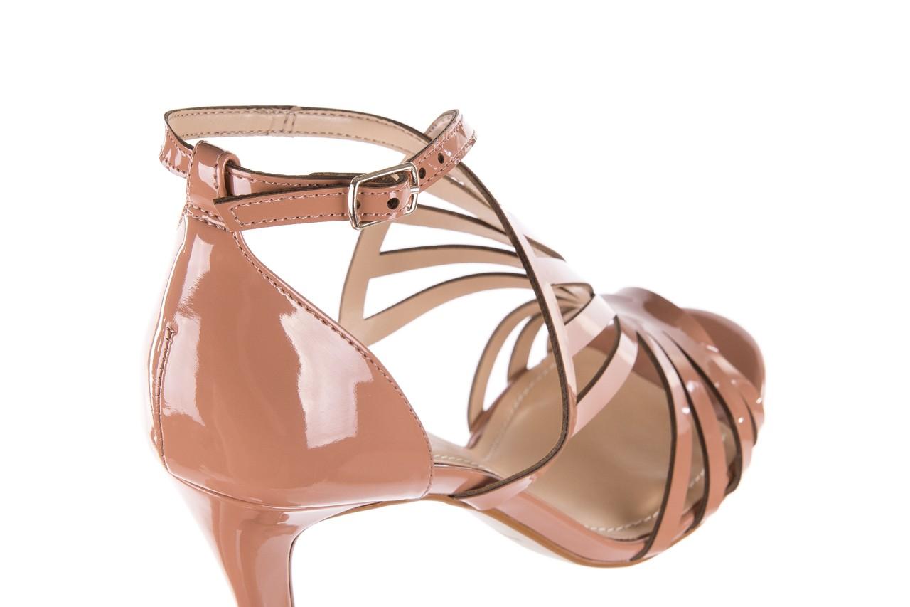 Sandały bayla-065 1388115 col rosa, róż, skóra ekologiczna lakierowana  - sandały - letnie hity cenowe 14