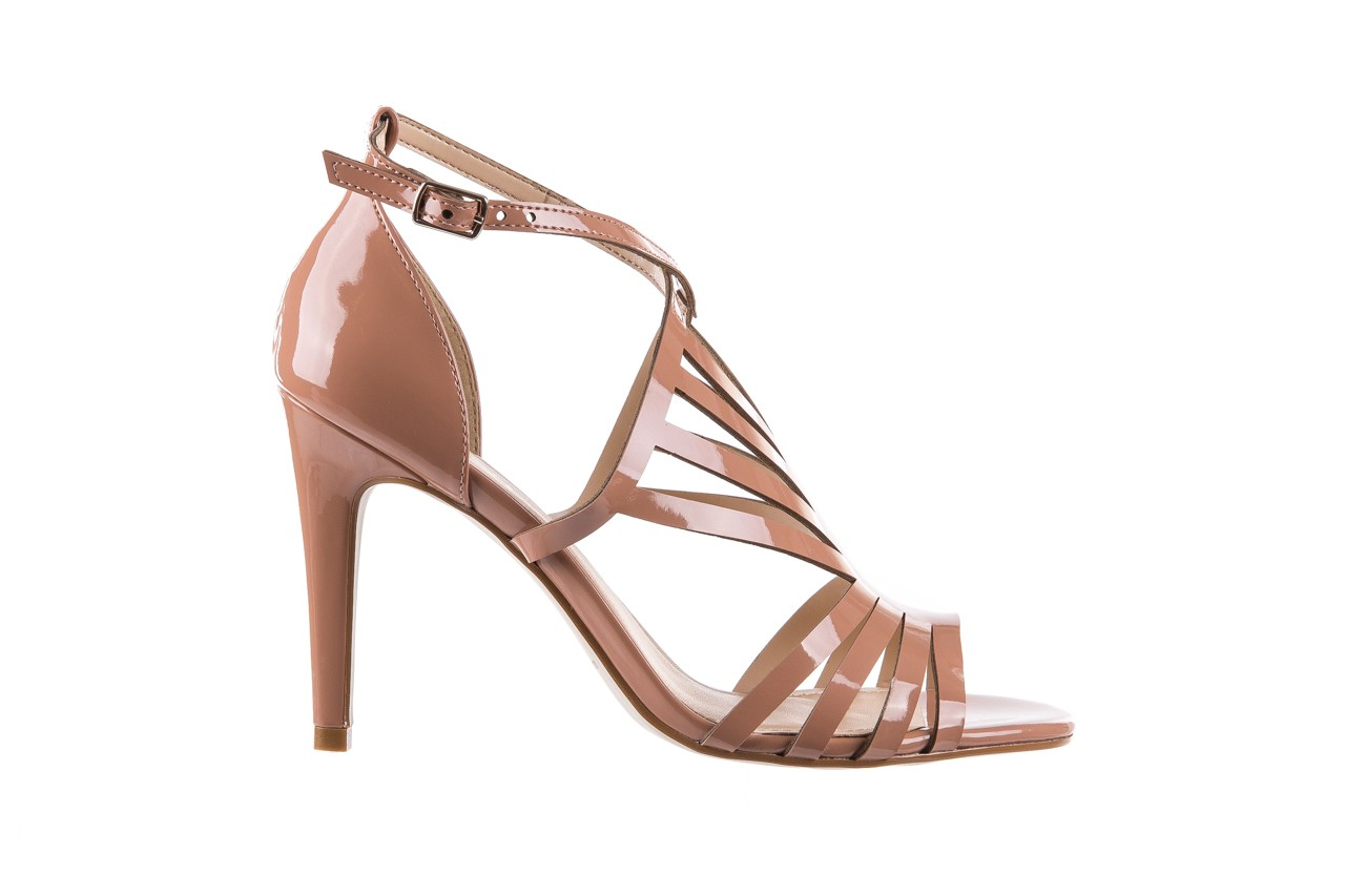 Sandały bayla-065 1388115 col rosa, róż, skóra ekologiczna lakierowana  - sandały - letnie hity cenowe 8