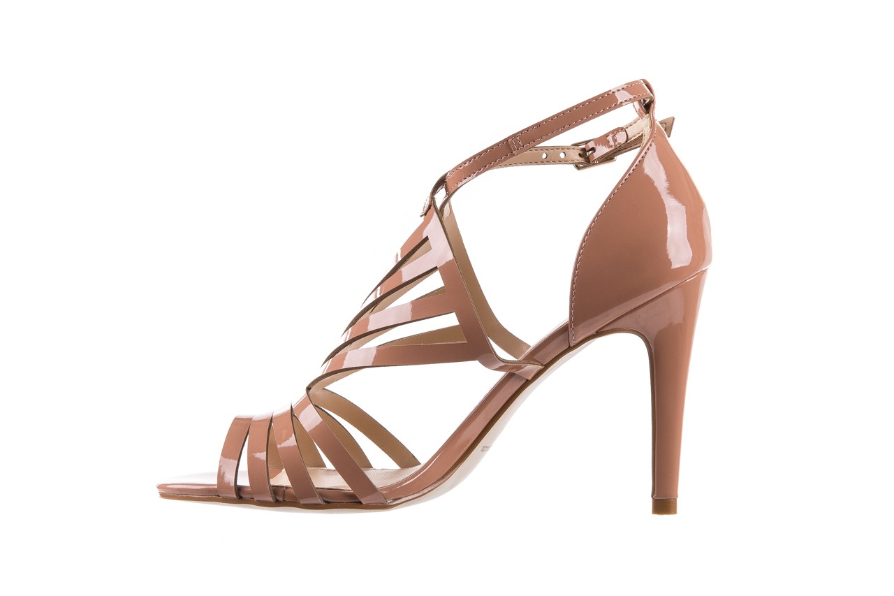 Sandały bayla-065 1388115 col rosa, róż, skóra ekologiczna lakierowana  - sandały - letnie hity cenowe 11