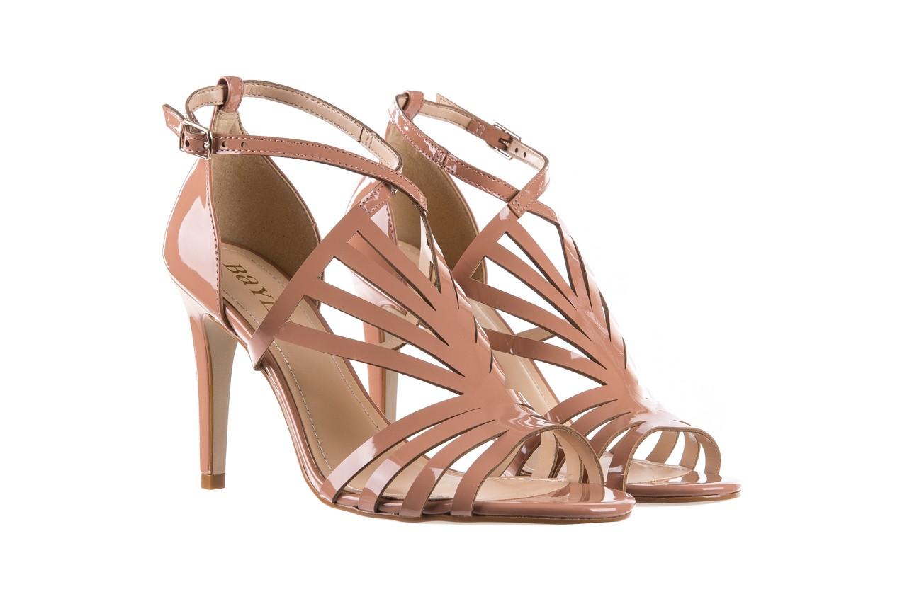 Sandały bayla-065 1388115 col rosa, róż, skóra ekologiczna lakierowana  - sandały - letnie hity cenowe 9