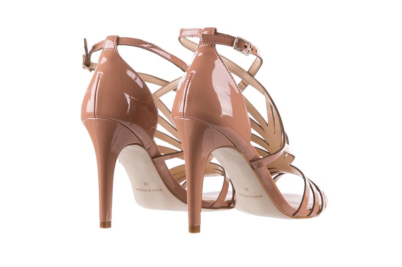 Sandały bayla-065 1388115 col rosa, róż, skóra ekologiczna lakierowana  - sandały - letnie hity cenowe 12