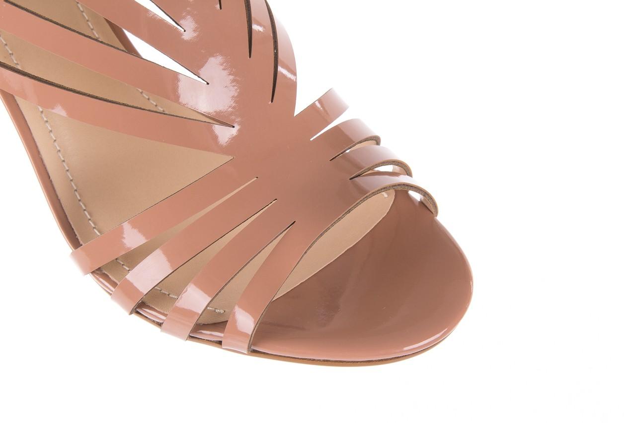 Sandały bayla-065 1388115 col rosa, róż, skóra ekologiczna lakierowana  - sandały - letnie hity cenowe 15