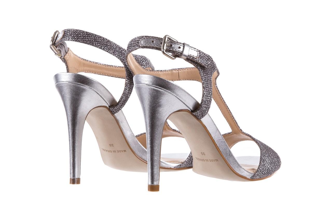 Sandały bayla-065 1388176 col prata, srebrny, skóra ekologiczna  - bayla - nasze marki 12