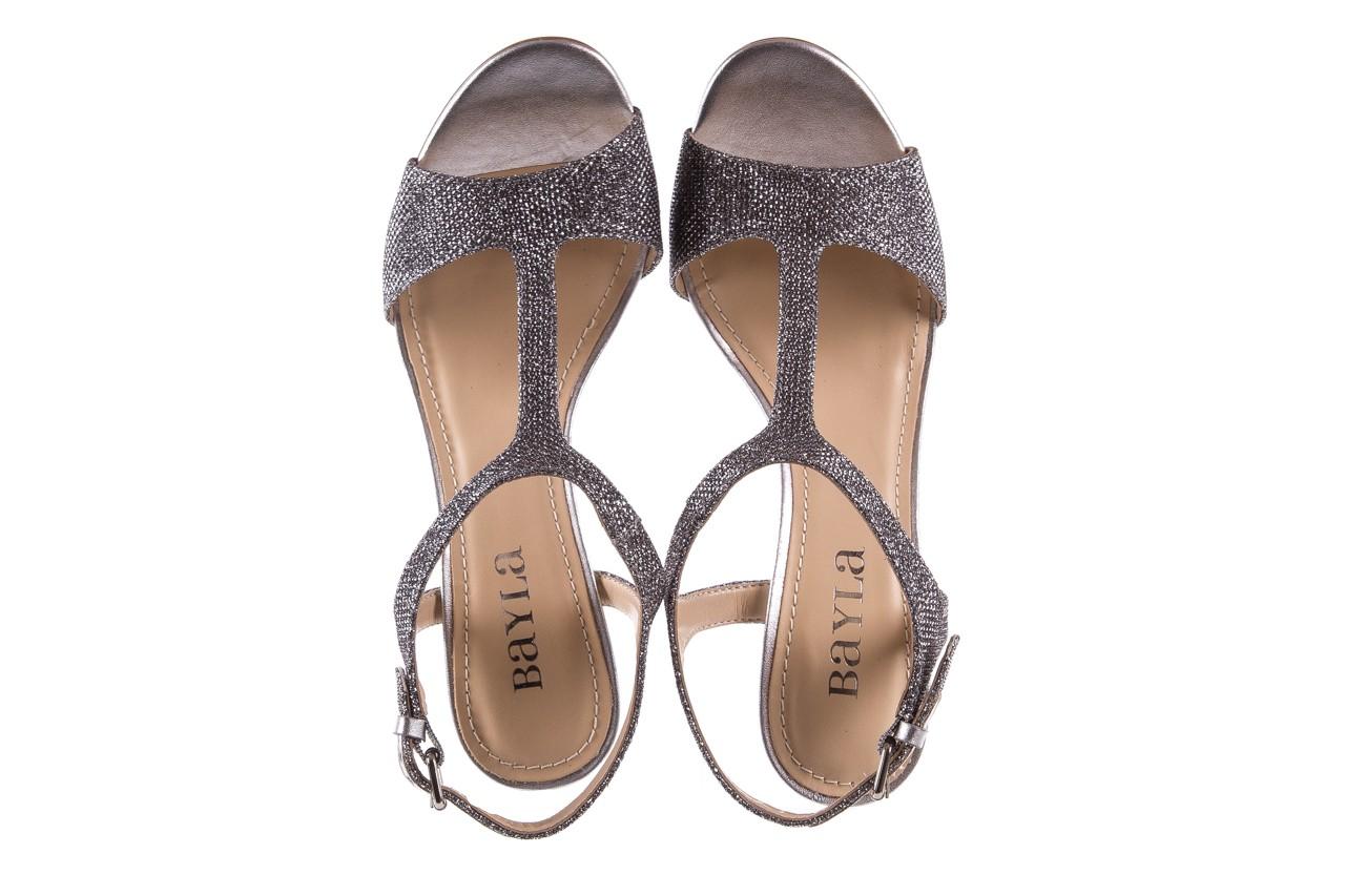 Sandały bayla-065 1388176 col prata, srebrny, skóra ekologiczna  - bayla - nasze marki 13