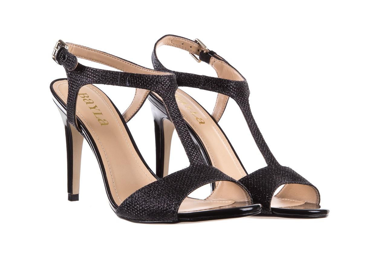 Sandały bayla-065 1388176 col preto, czarny, skóra ekologiczna - peep toe - szpilki - buty damskie - kobieta 9