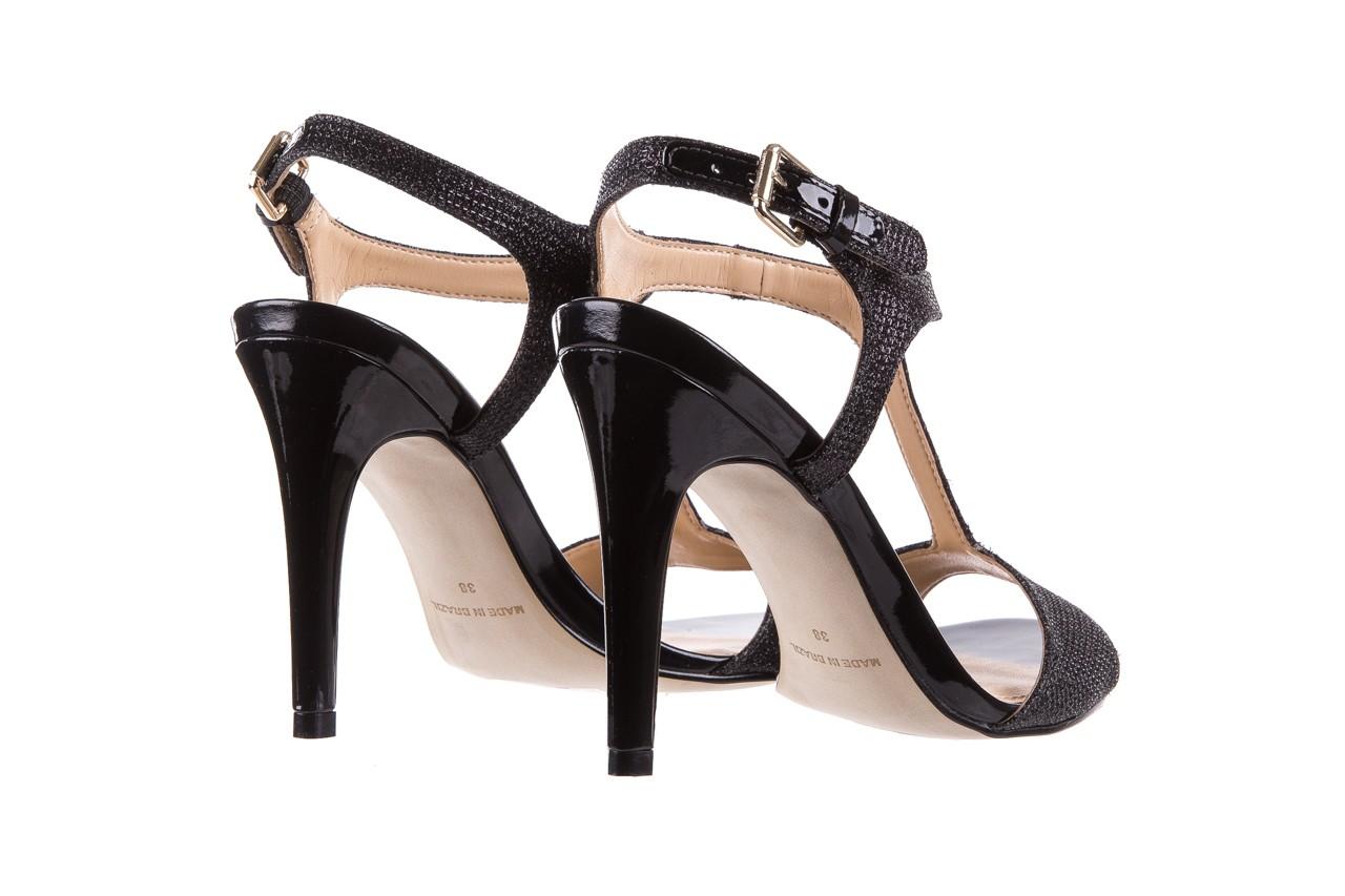 Sandały bayla-065 1388176 col preto, czarny, skóra ekologiczna - peep toe - szpilki - buty damskie - kobieta 12