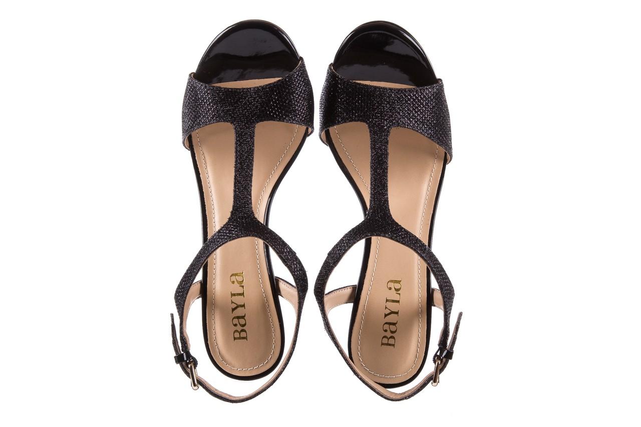 Sandały bayla-065 1388176 col preto, czarny, skóra ekologiczna - peep toe - szpilki - buty damskie - kobieta 13