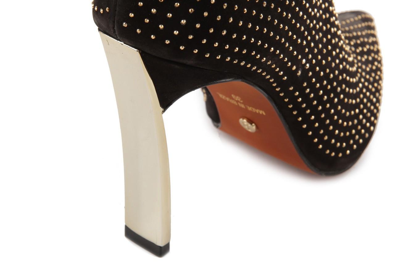 Botki bayla-067 118707 nobuck black, czarny, skóra naturalna - bayla - nasze marki 14
