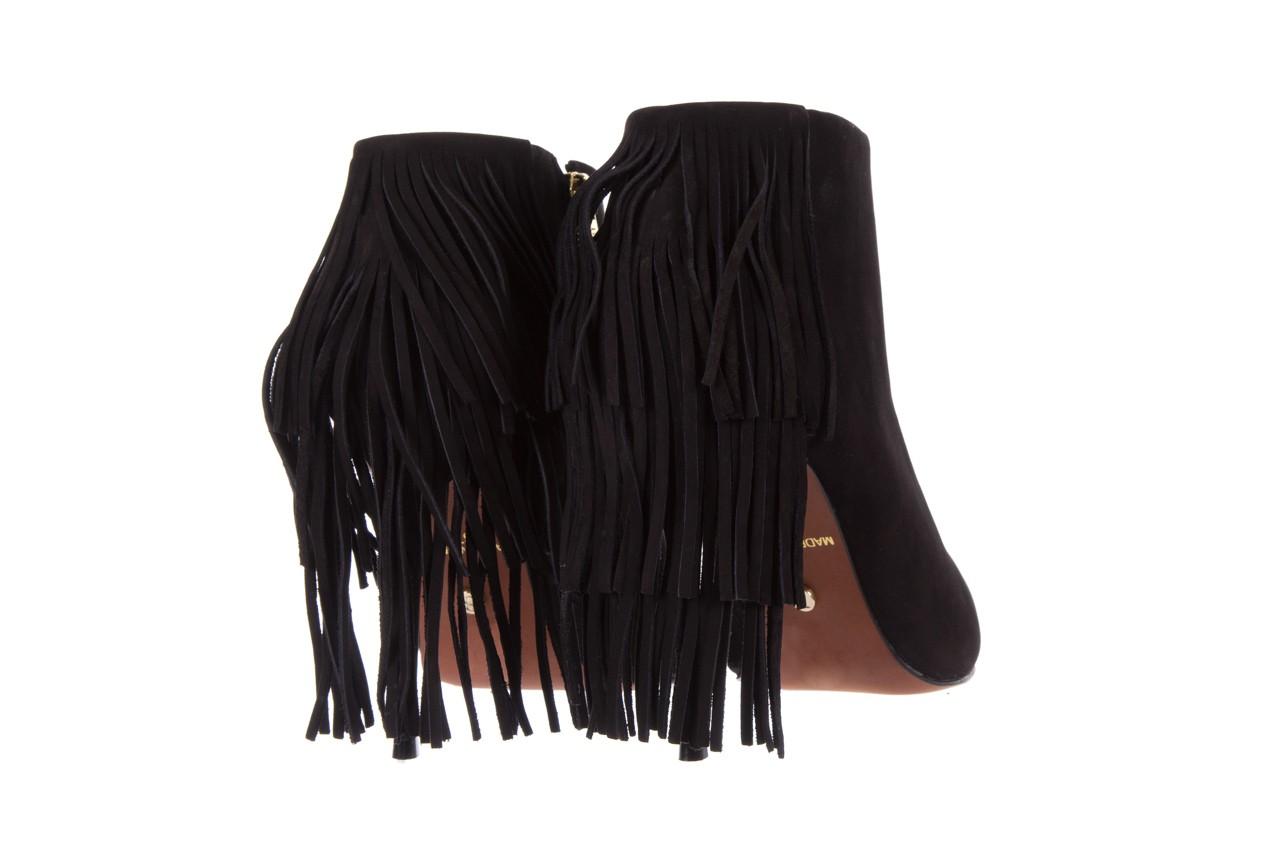Botki bayla-067 130329 nobuck black, czarny, skóra naturalna  - na szpilce - botki - buty damskie - kobieta 10