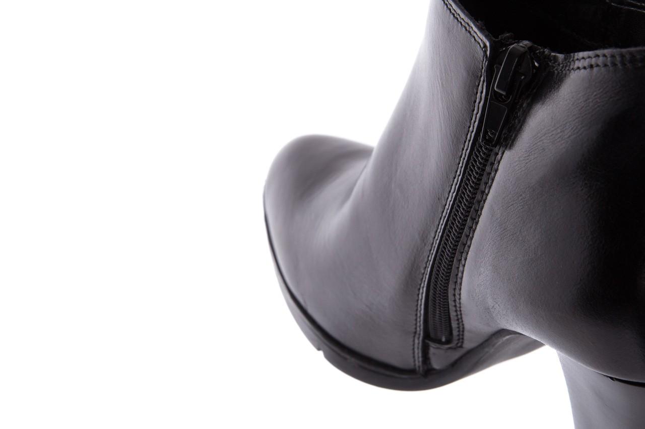 Botki bayla-070 6431660 gaucho nero, czarny, skóra naturalna  - hity cenowe 12