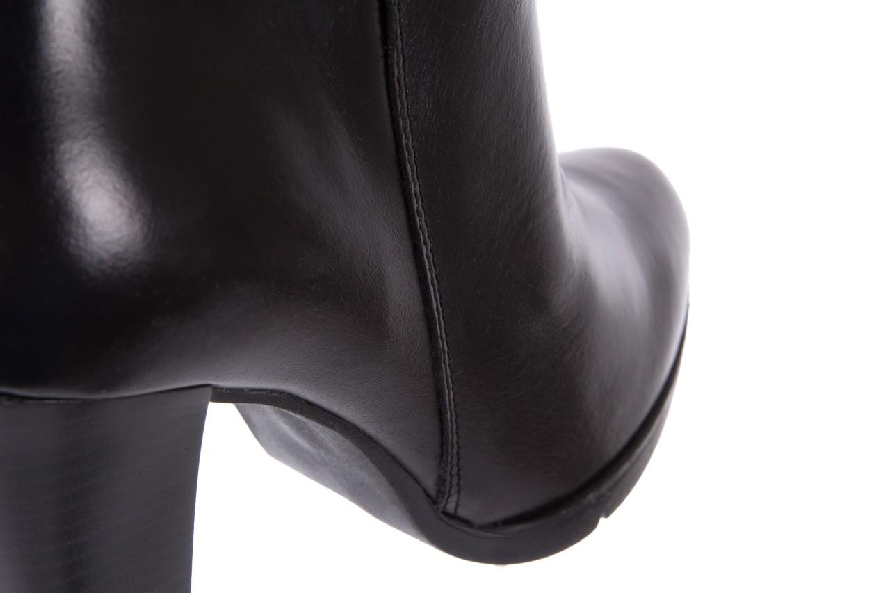 Botki bayla-070 6431660 gaucho nero, czarny, skóra naturalna  - hity cenowe 13