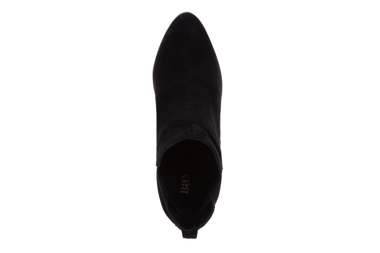 Botki bayla-070 6531662 fashion nero, czarny, skóra naturalna  - bayla - nasze marki 11