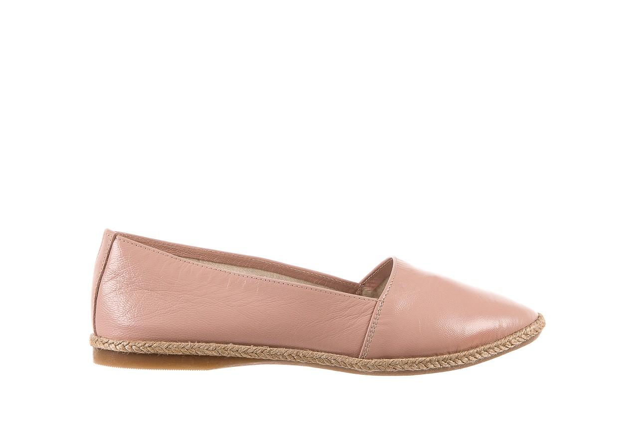 Mokasyny bayla-076 1566 różowy 18, skóra naturalna  - mokasyny i lordsy - półbuty - buty damskie - kobieta 6