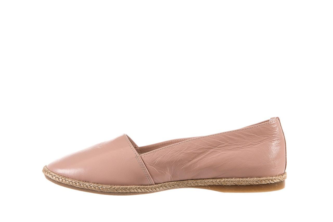 Mokasyny bayla-076 1566 różowy 18, skóra naturalna  - mokasyny i lordsy - półbuty - buty damskie - kobieta 8