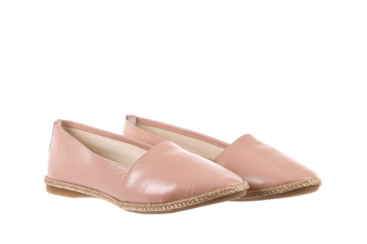 Mokasyny bayla-076 1566 różowy 18, skóra naturalna  - mokasyny i lordsy - półbuty - buty damskie - kobieta 7