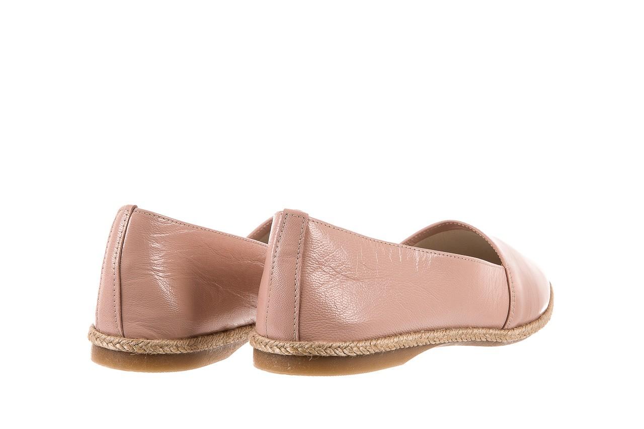 Mokasyny bayla-076 1566 różowy 18, skóra naturalna  - mokasyny i lordsy - półbuty - buty damskie - kobieta 9