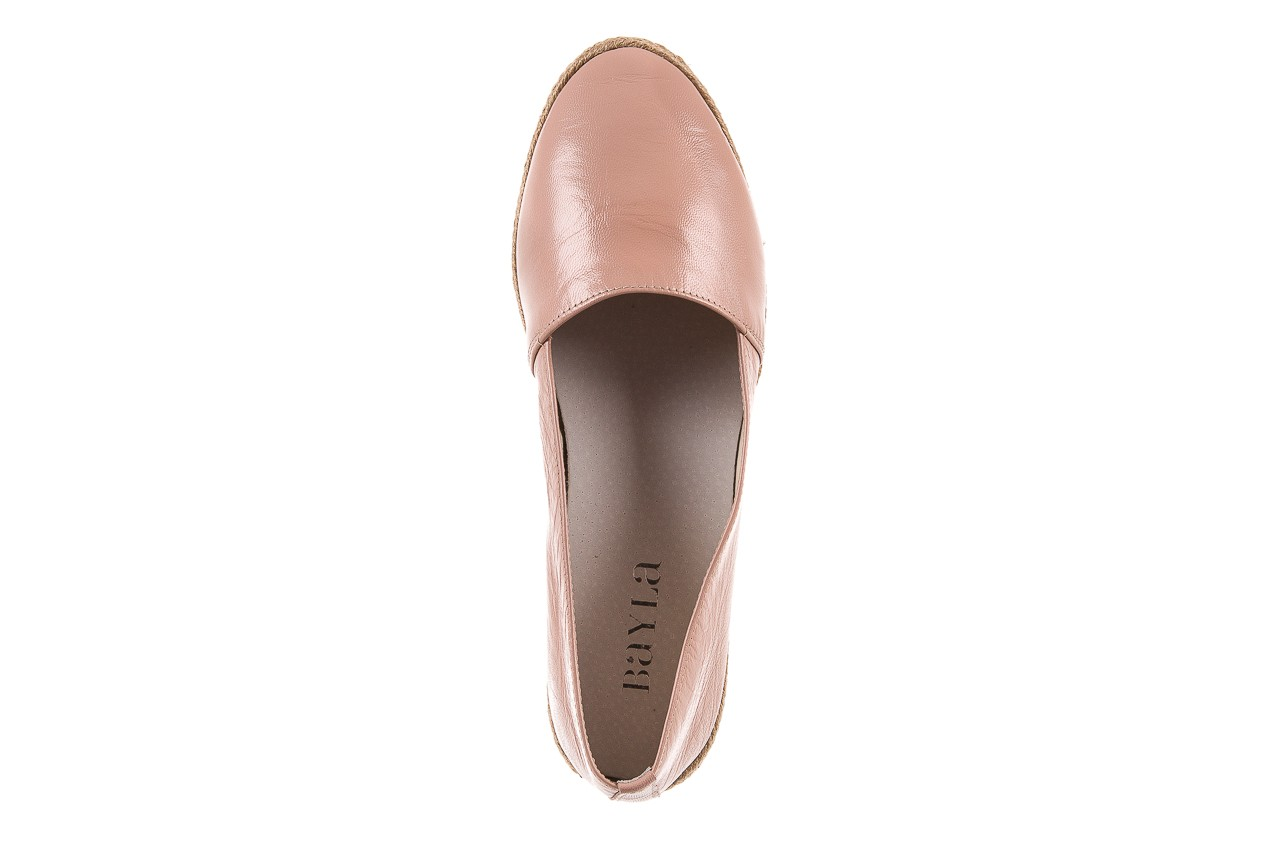 Mokasyny bayla-076 1566 różowy 18, skóra naturalna  - mokasyny i lordsy - półbuty - buty damskie - kobieta 10