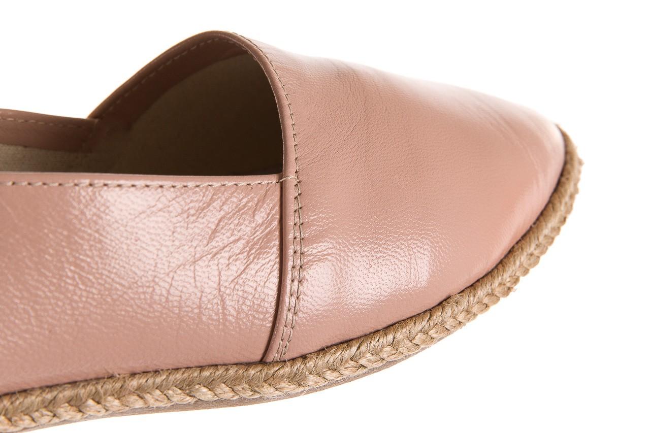 Mokasyny bayla-076 1566 różowy 18, skóra naturalna  - mokasyny i lordsy - półbuty - buty damskie - kobieta 11
