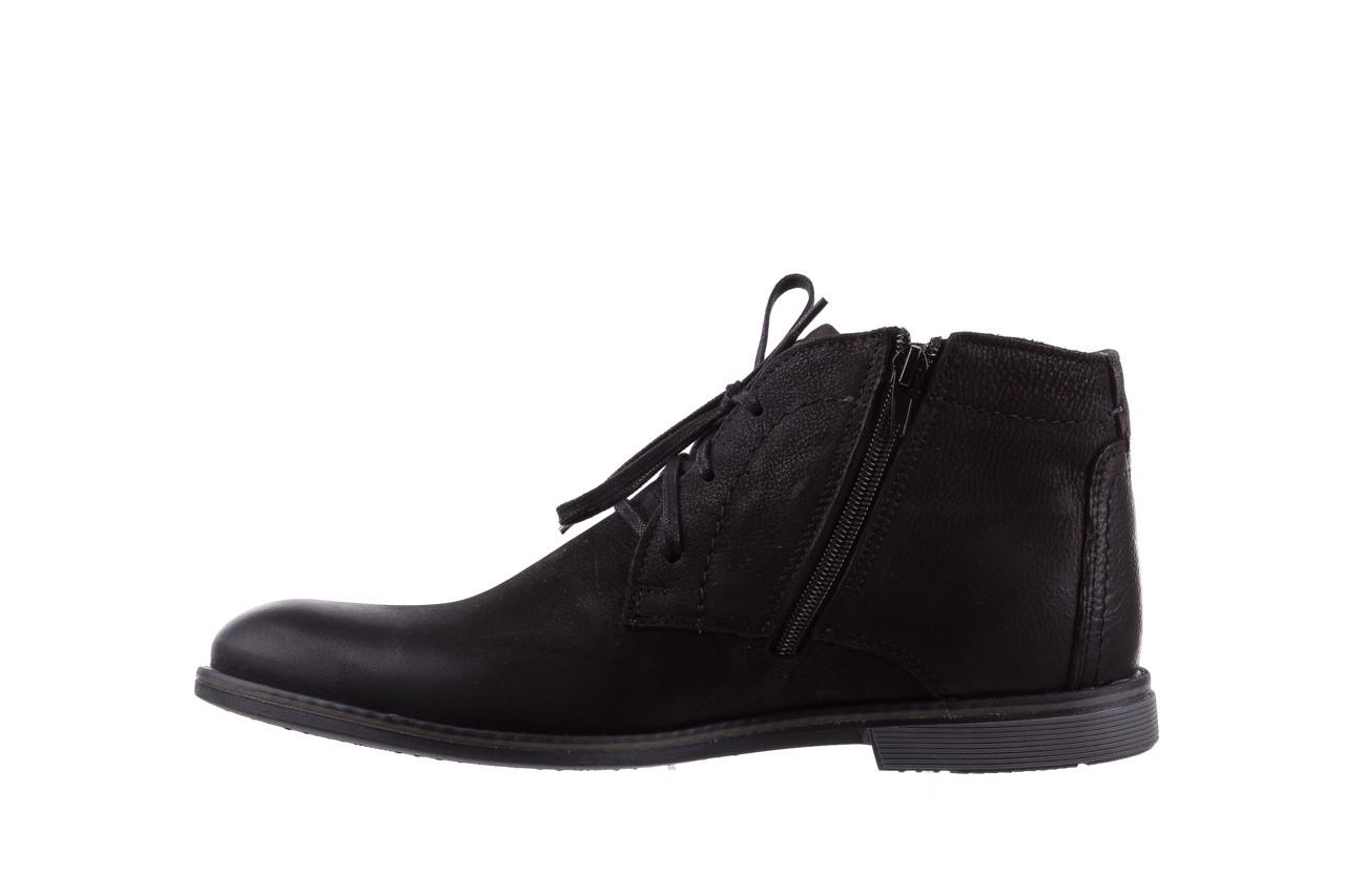 Trzewiki bayla-081 817 czarny, skóra naturalna  - trzewiki - buty męskie - mężczyzna 9