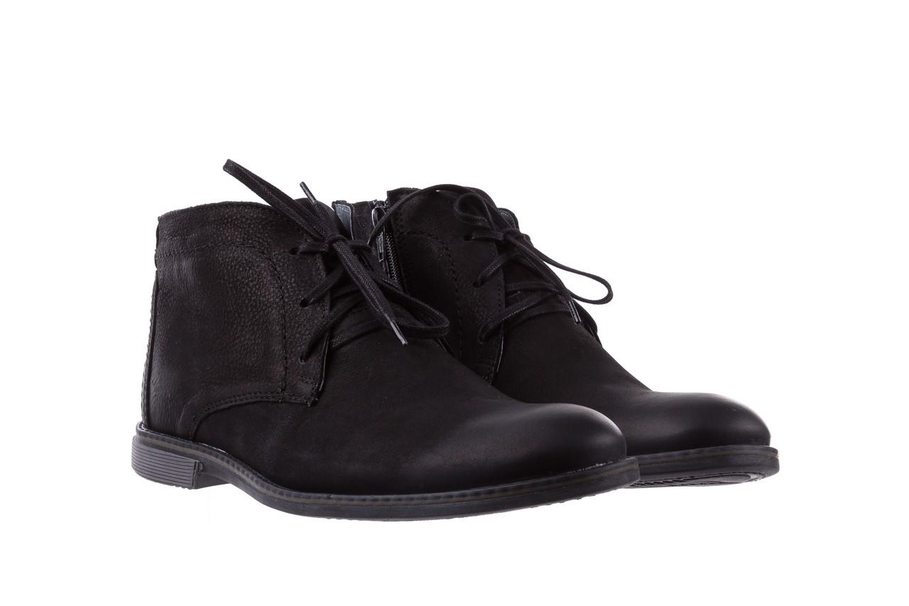 Trzewiki bayla-081 817 czarny, skóra naturalna  - trzewiki - buty męskie - mężczyzna 8