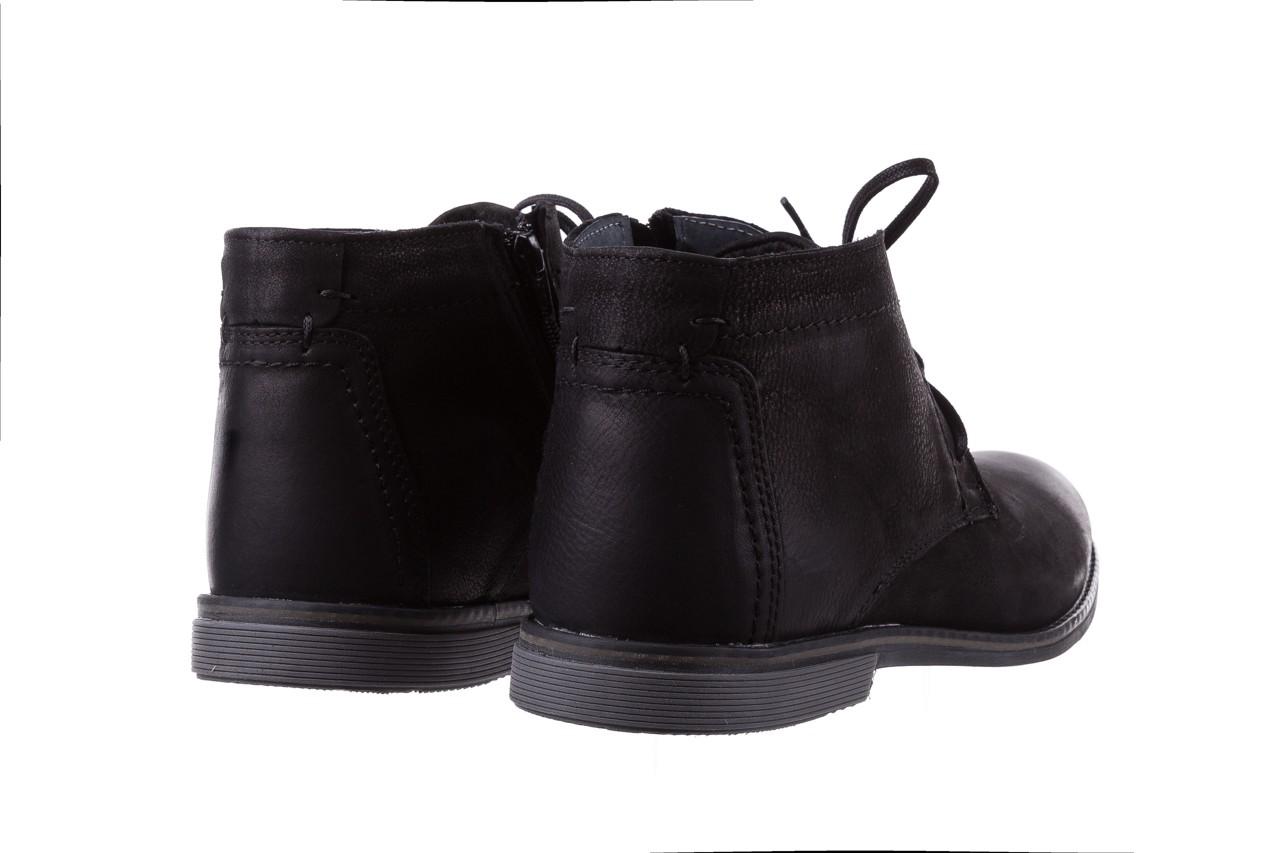 Trzewiki bayla-081 817 czarny, skóra naturalna  - trzewiki - buty męskie - mężczyzna 10