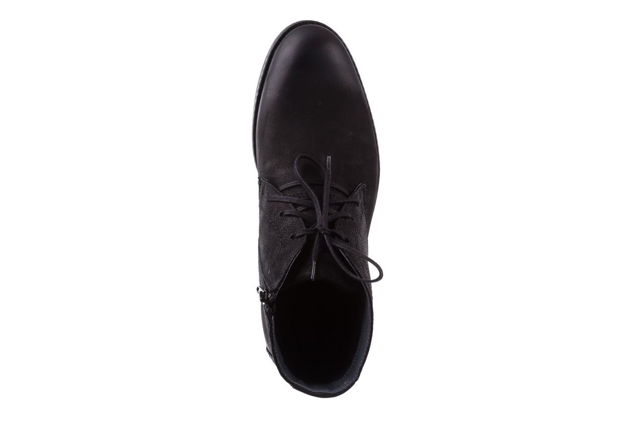 Trzewiki bayla-081 817 czarny, skóra naturalna  - trzewiki - buty męskie - mężczyzna 11