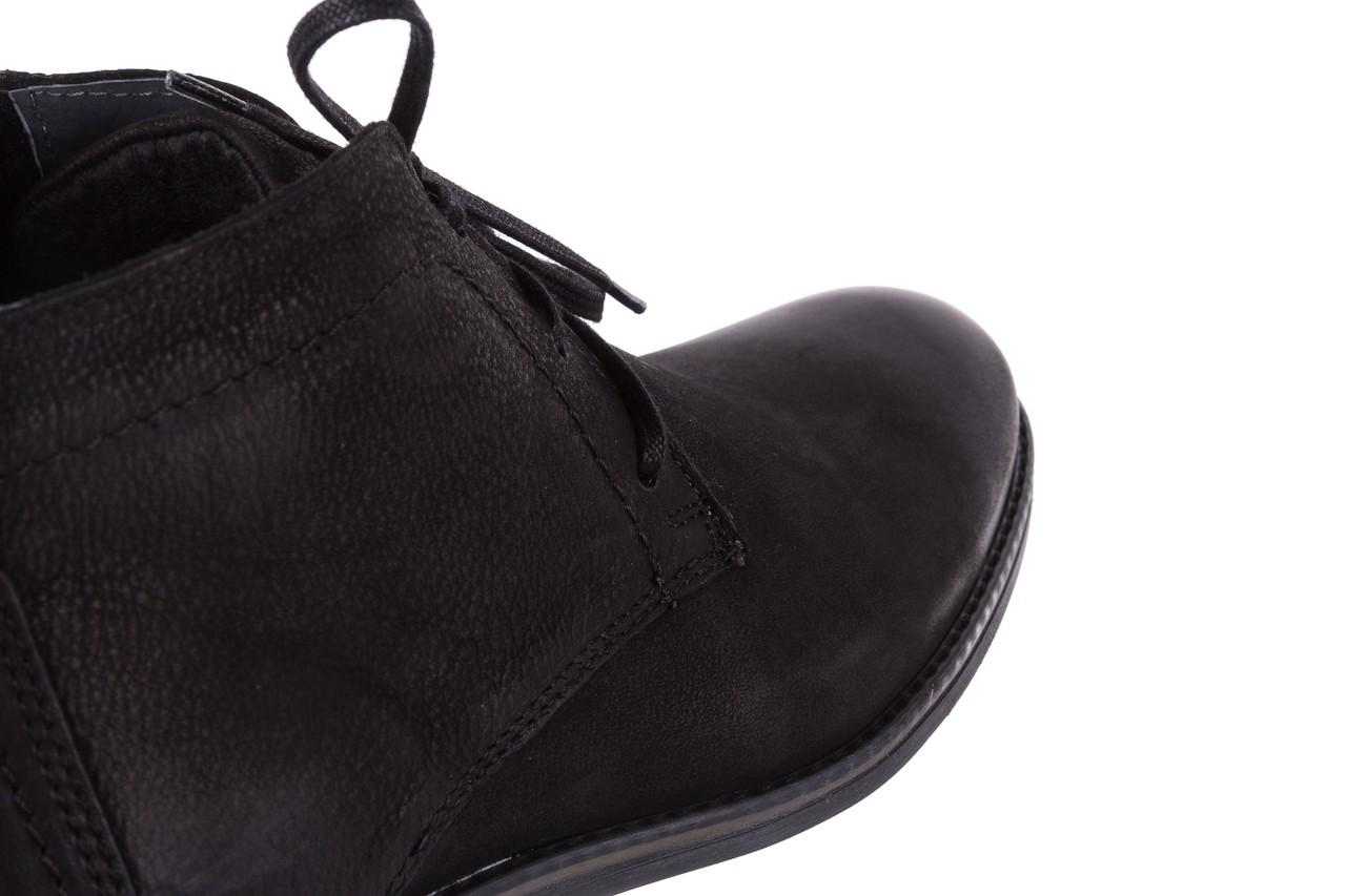 Trzewiki bayla-081 817 czarny, skóra naturalna  - trzewiki - buty męskie - mężczyzna 12