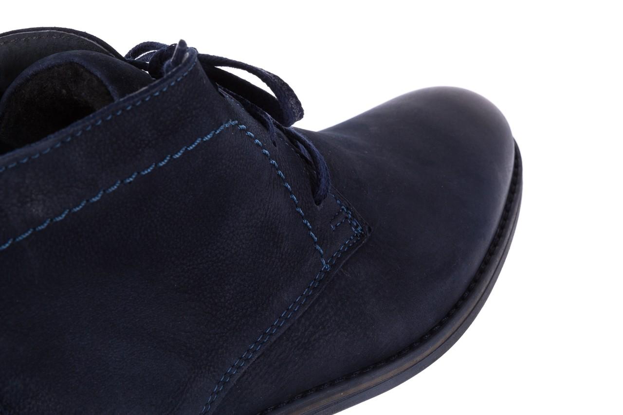 Trzewiki bayla-081 817 granat, skóra naturalna  - trzewiki - buty męskie - mężczyzna 13
