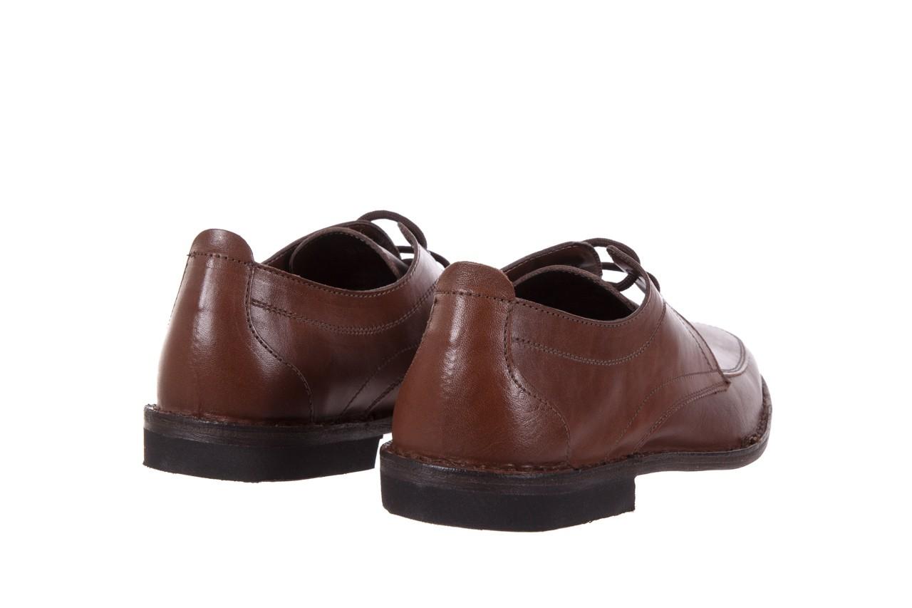 Półbuty bayla-088 08471 vacchetta marrone, brąz, skóra naturalna 9