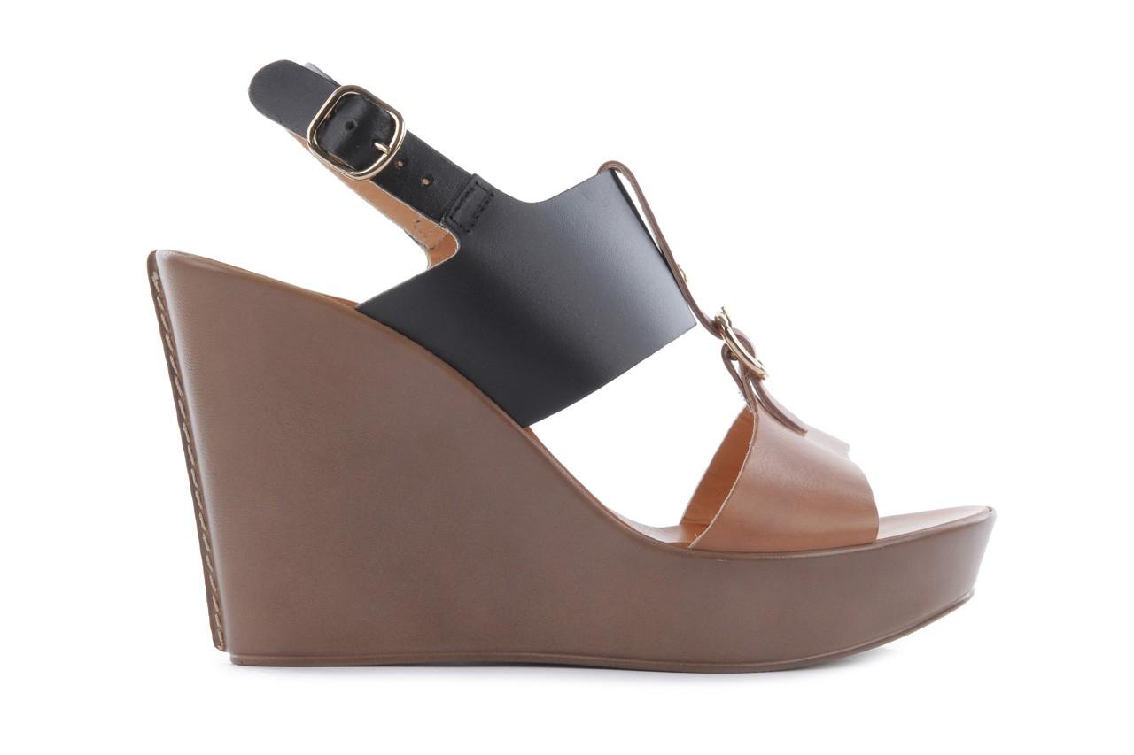 Sandały bayla-093 7202 black natural, czarny/brąz, skóra naturalna - bayla - nasze marki 7