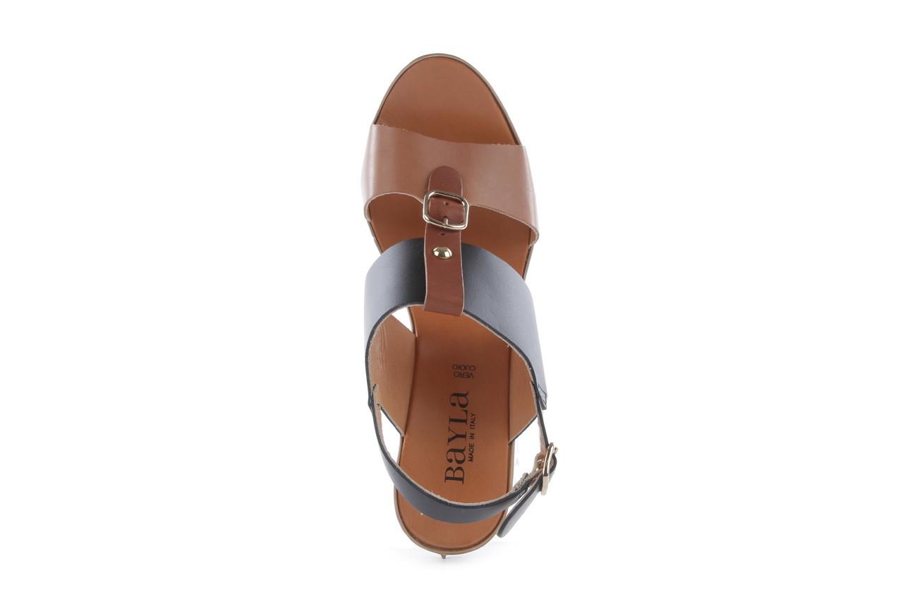 Sandały bayla-093 7202 black natural, czarny/brąz, skóra naturalna - bayla - nasze marki 11