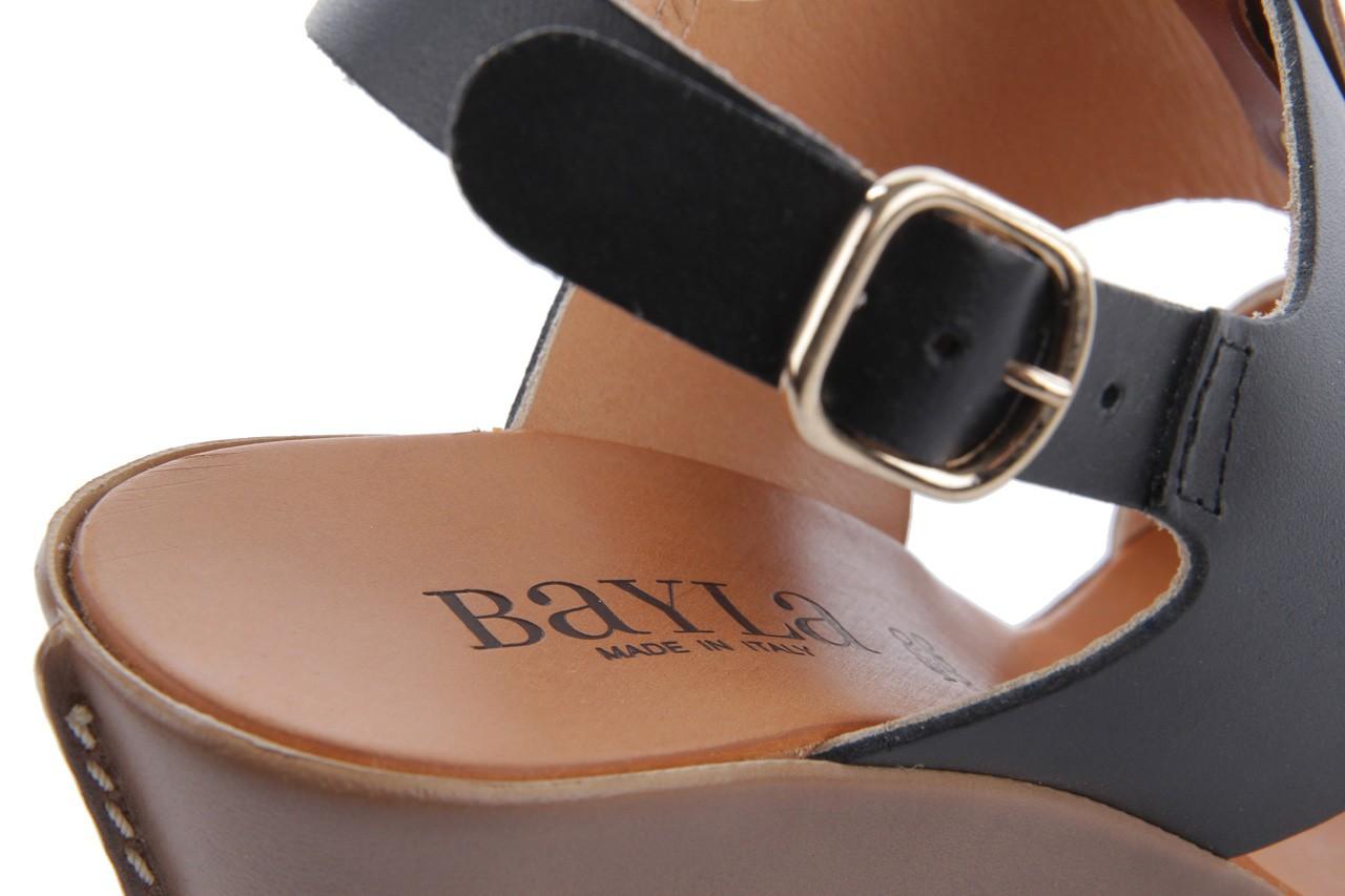 Sandały bayla-093 7202 black natural, czarny/brąz, skóra naturalna - bayla - nasze marki 13